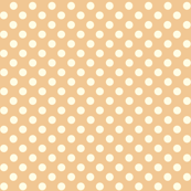 Dolly Dots Peach Large Colour