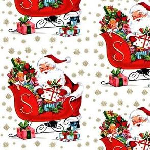 custom santa sleigh