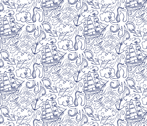 Hold Fast fabric by jillbyers on Spoonflower - custom fabric