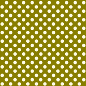 Dolly Dots Dark Green Large Colour