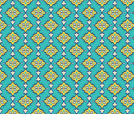 Geometric Ikat Goldenrod Hand Drawn Moroccan Inspired Middle Custom Middle Eastern Patterns