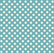Dolly Dots Retro Blue Large Colour