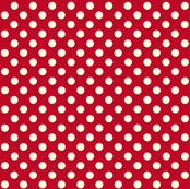 Dolly Dots Red Large Colour