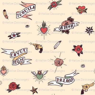 Cute Vintage Tattoos