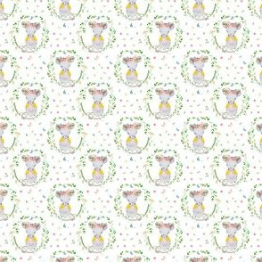 "1.5""  LILA THE MOUSE SPRINGTIME"