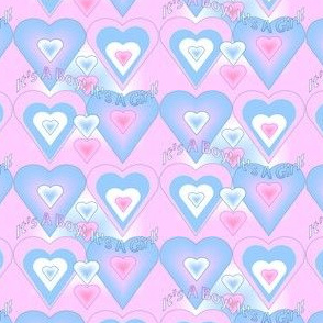 Blue Pink Hearts Revised