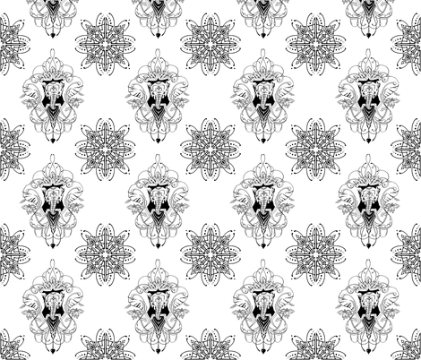 tattoo1 fabric by doa-flatliners on Spoonflower - custom fabric