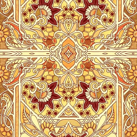 Twisted Sunshine fabric by edsel2084 on Spoonflower - custom fabric