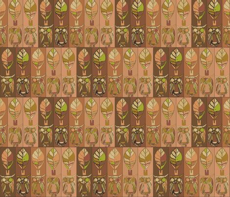 Front-Facing Eyes fabric by dewoondesign on Spoonflower - custom fabric