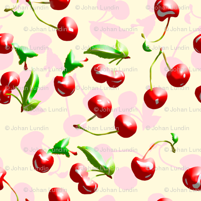 Airbrushed Cherries