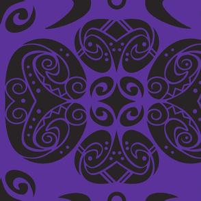 Tattoo purple dream