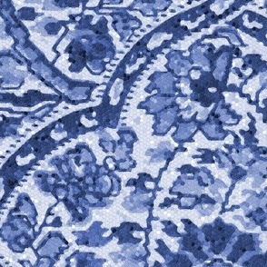 Alfred Paisley  ~ Mosaic ~  Blue and White