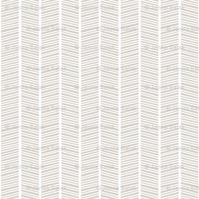 Herringbone Warm Grey