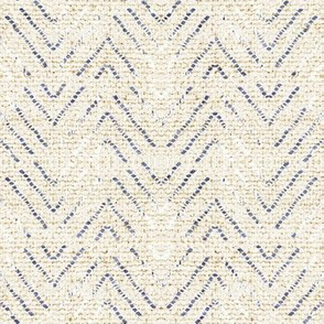 EARTHEN DENIM CHEVRON