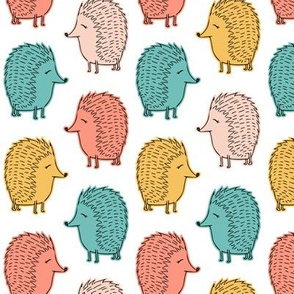 hedgehogs - spring