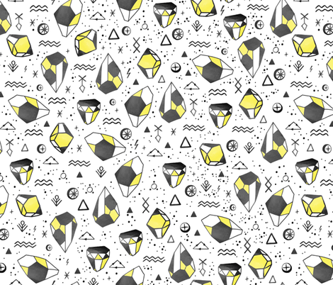 Cosmic Diamonds fabric by lidiebug on Spoonflower - custom fabric