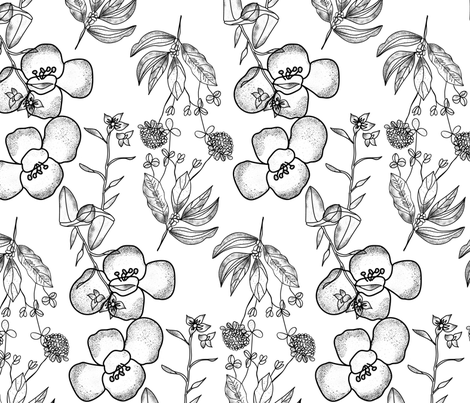 Tattoo Pattern fabric by 2329_design on Spoonflower - custom fabric