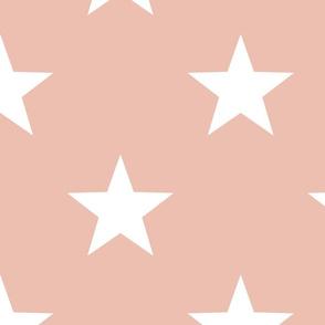 Sage & Coral Star Large