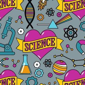 Scientific Tattoos (Pink)