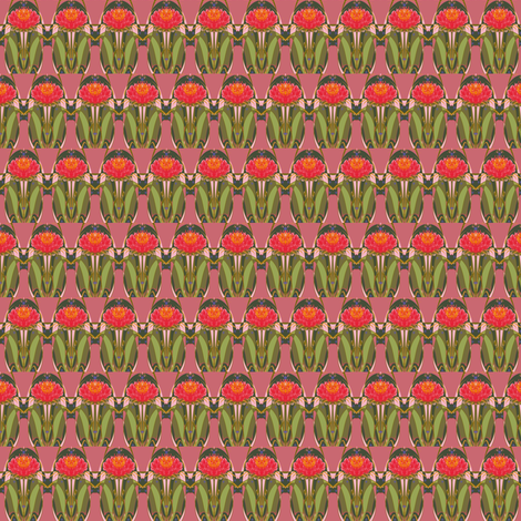 Tropical Fruition fabric by antonialindseyart on Spoonflower - custom fabric