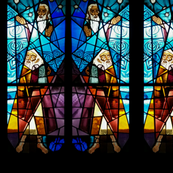 Modern Moses in Glass
