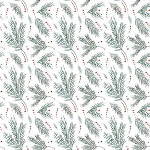 Winter Pine Paper
