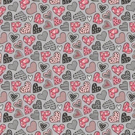 Rlgeometric-hearts-doodlegreyredtiny_shop_preview