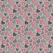 Rlgeometric-hearts-doodlegreyredtiny_shop_thumb