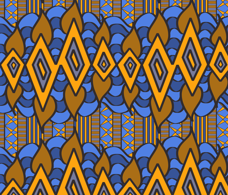 The Rain in Africa fabric by house_of_heasman on Spoonflower - custom fabric