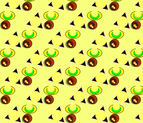 Viola' African Print fabric by bent_line_designs on Spoonflower - custom fabric
