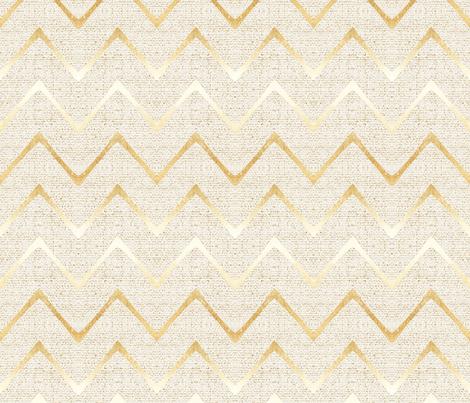 EARTHEN CHEVRON GOLD fabric by holli_zollinger on Spoonflower - custom fabric