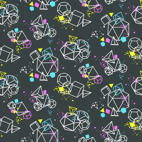 Sweet Spool Designs Dice Dice Baby fabric by sweetspooldesigns on Spoonflower - custom fabric