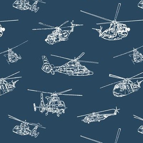 Choppers on Navy // Small