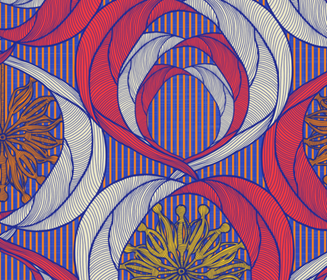 The Chief's Daughter fabric by docious_designs_by_patricia_braune on Spoonflower - custom fabric