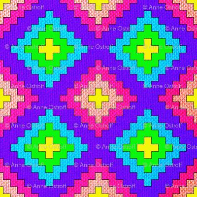 Rainbow Kilim