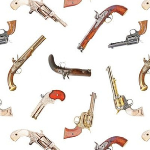 Antique Pistols // Small