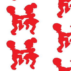 Dancing Children Clipart (1)