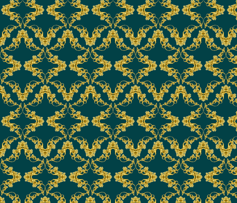 Fractal 376 fabric by anneostroff on Spoonflower - custom fabric
