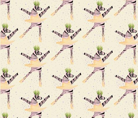ziggy zebra fabric by frankiepopp on Spoonflower - custom fabric