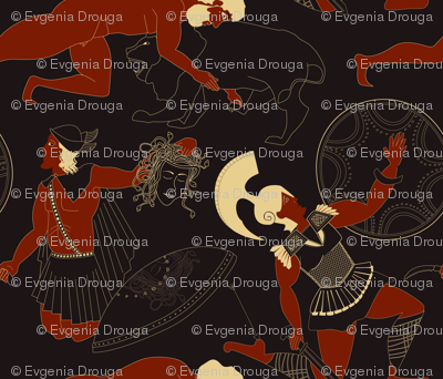 Demigods ancient Greeks