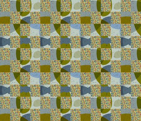 checker prints fabric by kimmurton on Spoonflower - custom fabric