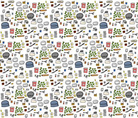 baking fabric by kimmurton on Spoonflower - custom fabric