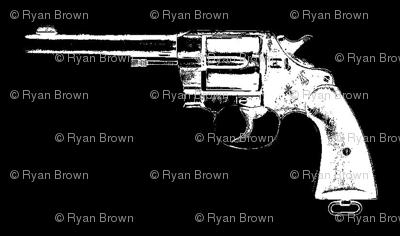 "2"" Colt Revolvers on Black"