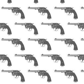 "2"" Grey Colt Revolvers"