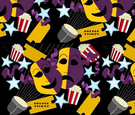 faces fabric by okrosebud on Spoonflower - custom fabric