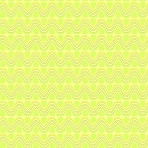 Seamless Chartreuse Ripples