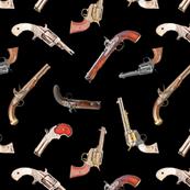Antique Pistols // Black