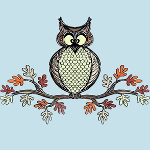 Individual Falling Owl
