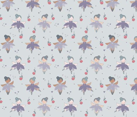 Bravo Tiny Ballerina fabric by jennifer_todd on Spoonflower - custom fabric
