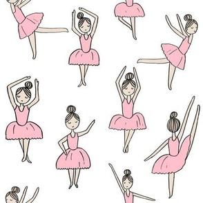 ballet // dancing dancer ballet fabric cute girls music white pink